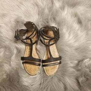 Beautiful Sam & Libby Black Sandals